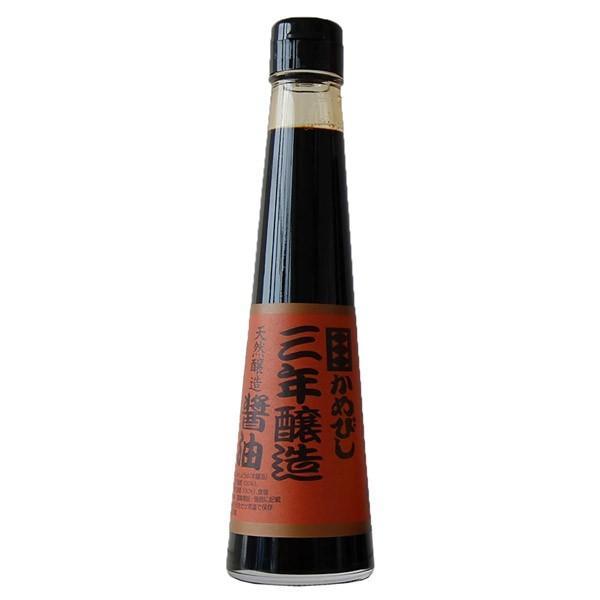 かめびし醤油 三年醸造醤油 200ml earth-shop