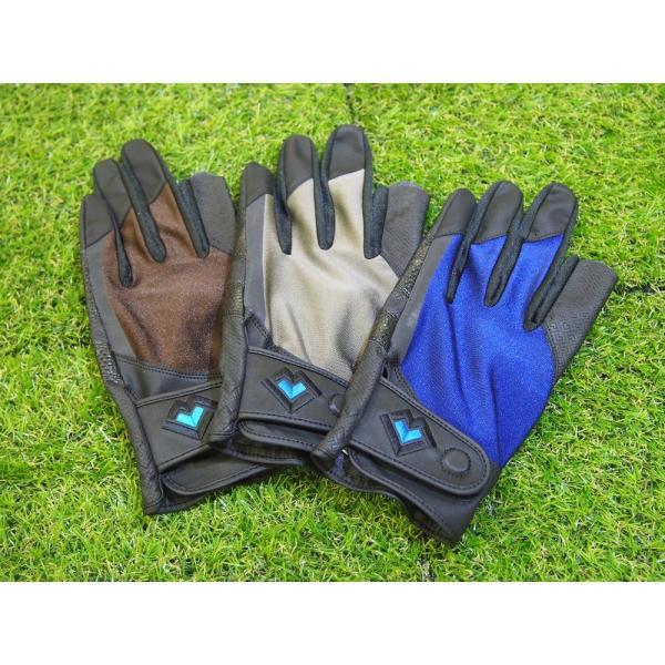 レガン グラウンドゴルフ用手袋 磁石付き高機能モデル 紳士用 両手組 メール便|earth-shop