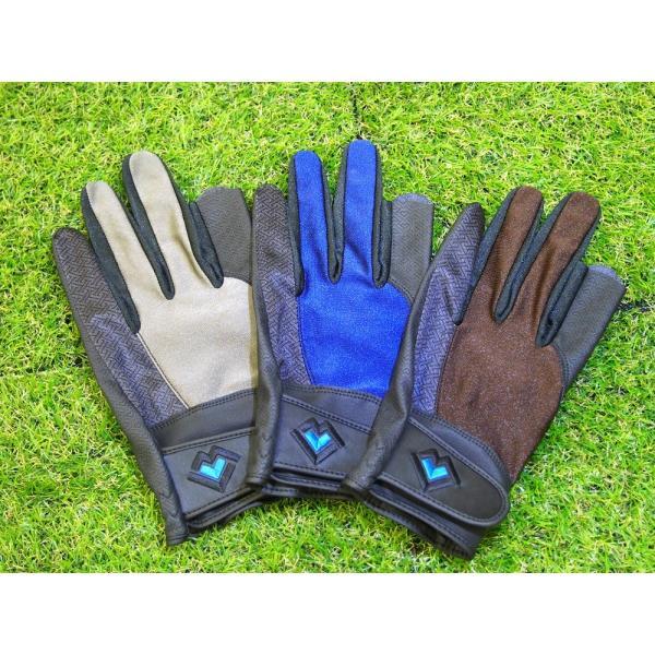 レガン グラウンドゴルフ用手袋 スタンダードモデル 紳士用 両手組 メール便|earth-shop
