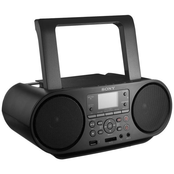 ソニー Bluetooth対応 CDラジオ ZS-RS81BTの画像