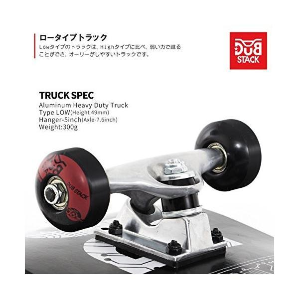 DUB STACK(ダブスタック) スケートボード DSB-3 31インチ コンプリートセット 【ABEC5ベアリング採用】|earths|05
