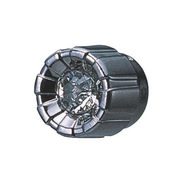 カーメイト 車用 ドレスアップパーツ キャップ  φ5~7mm ブラックメッキ/クリア DZ143