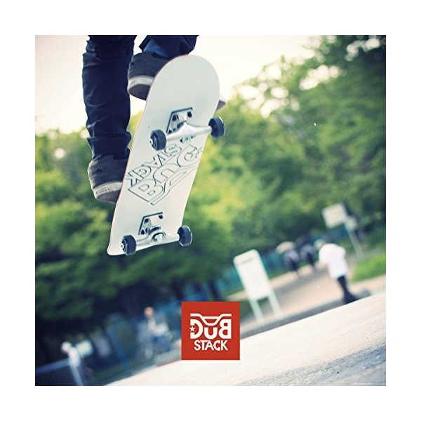 DUB STACK(ダブスタック) スケートボード DSB-9 31インチ 【高品質カナディアンメープルデッキ】 コンプリートセット 【ABEC5ベアリング採用】|earths|02