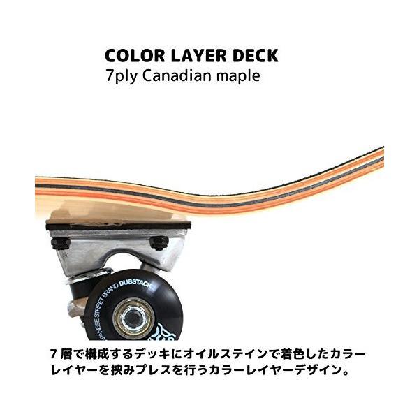 DUB STACK(ダブスタック) スケートボード DSB-10 31インチ 【高品質カナディアンメープルデッキ】 コンプリートセット 【ABEC5ベアリング採用】|earths|06