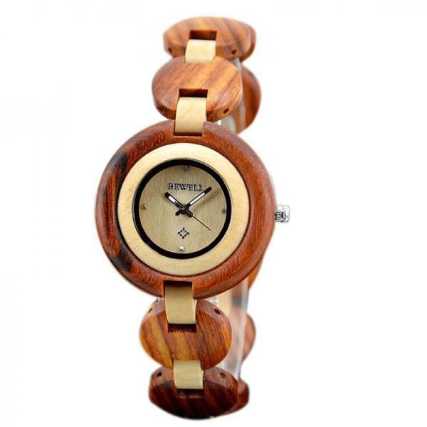 los angeles fa482 1053a 木製ブレスレットタイプ 天然素材 ウッドウォッチ 木製腕時計 ...