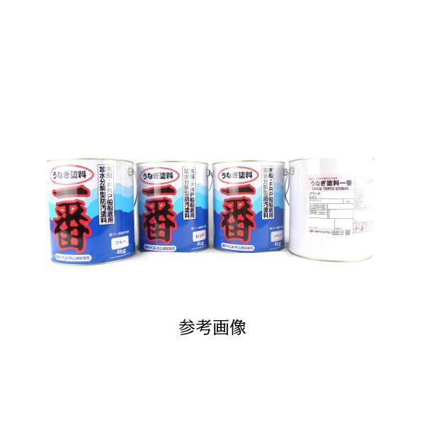船底塗料 うなぎ一番 4kg 赤 船外機 うなぎ 塗料 船底塗料 日本ペイント 船舶用品 船具 缶にヘコミあり
