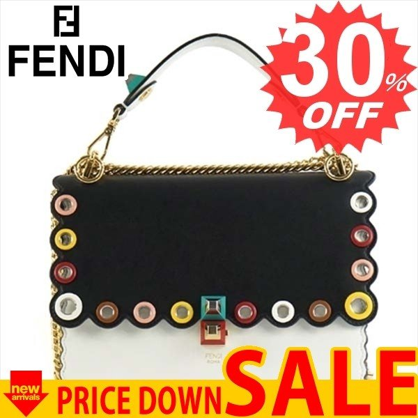 フェンディ バッグ ハンドバッグ FENDI KAN I 8BT283  F0EI2  A06Z   比較対照価格 399,600 円