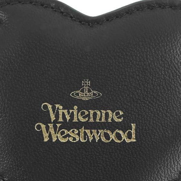 ヴィヴィアンウエストウッド キーリング VIVIENNE WESTWOOD EMMA 82030027 HEART KEYRING N401 BLACK  40564