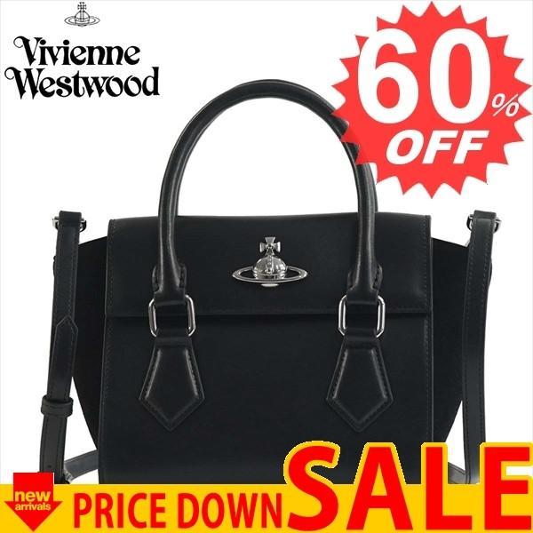 ヴィヴィアンウエストウッド バッグ ハンドバッグ VIVIENNE WESTWOOD MATILDA BK 42010032 SMALL HANDBAG N401 BLACK 比較対照価格 113,400 円