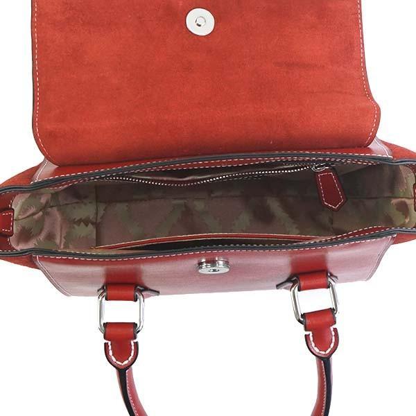 ヴィヴィアンウエストウッド バッグ ハンドバッグ VIVIENNE WESTWOOD MATILDA 42010032 SMALL HAND H401 RED 40525  LEATHER  比較対照価格113,400 円