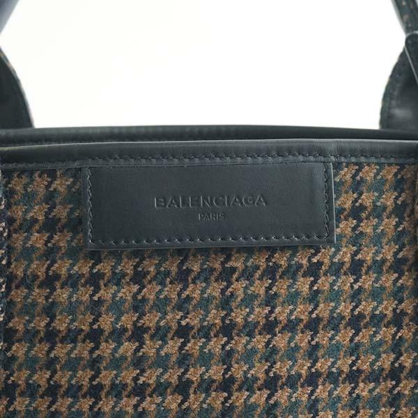 バレンシアガ バッグ トートバッグ BALENCIAGA NAVY CABAS XS AJ 390346  2780 MARRON/KAKI/BLK 9DG1N   比較対照価格99,360 円