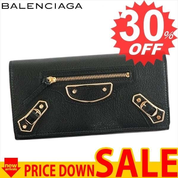 best sneakers c82b0 6f69c バレンシアガ財布長財布BALENCIAGA CLASSIC METALIC EDGE 390184 ...