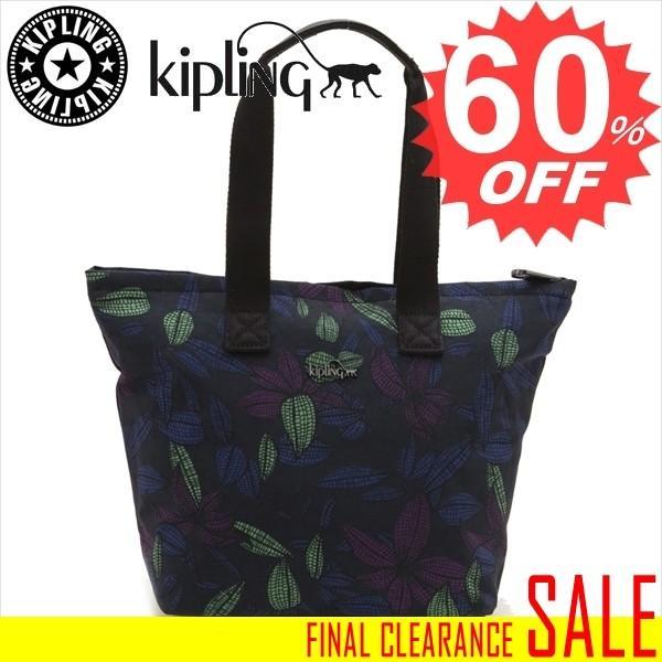 キプリング バッグ トートバッグ KIPLING NIAMH K14350 P80 Orchid Garden