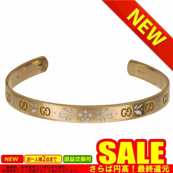 グッチ ブレスレット GUCCI サイズ:17 434528-J85G0  K18GOLD 18金 ゴールド    比較対照価格392,700 円