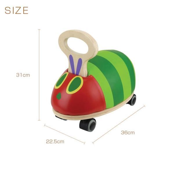 室内用 乗用玩具 EricCarle(エリックカール) はらぺこあおむし GOGOライド|ebaby-select|05