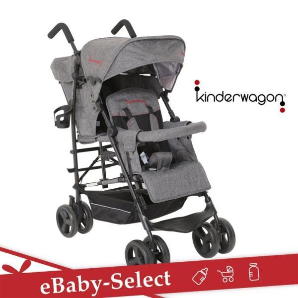 Kinderwagon DUOシティHOP グレーデニム(送料無料)|ebaby-select