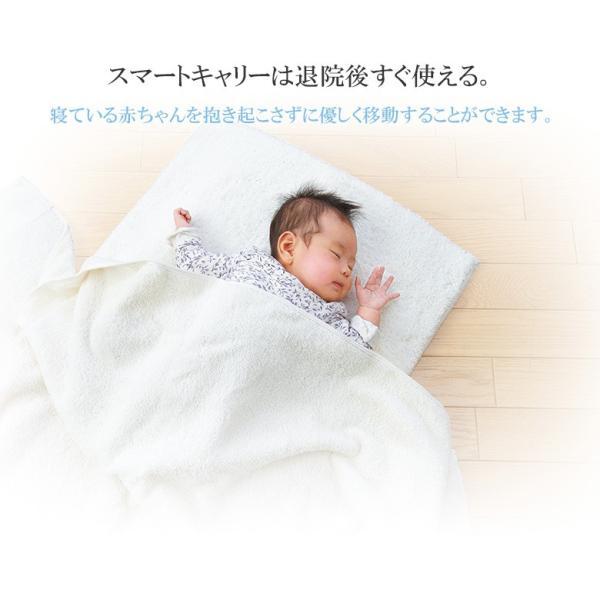 チャイルドシート 新生児から使えるスマートキャリー  ISOFIXベースセット 日本育児(送料無料)|ebaby-select|04