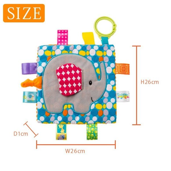 Taggies Crinkle me Baby Toy シャカシャカ クロス|ebaby-select|05