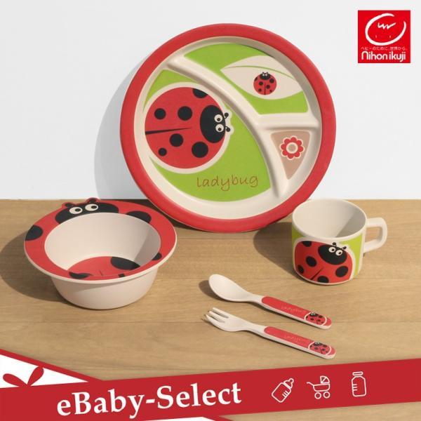 日本育児 バンブーミールセット 食器セット ベビー食器 出産祝い|ebaby-select