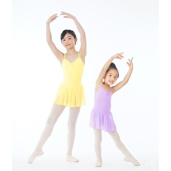 バレエレオタード 子供用 高級シフォンスカートバレエレオタード(肩紐) | キッズ|eballerina|04