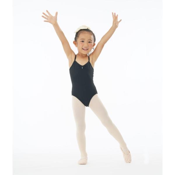 バレエレオタード 子供用 NEWシンプルバレエレオタード(肩紐) バレエ用品   キッズ eballerina 04