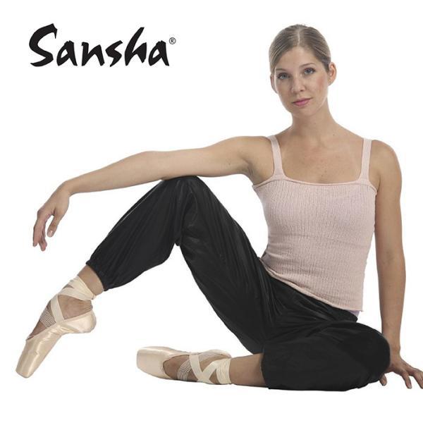 バレエ用品 サンシャL0108N サウナロングパンツ|eballerina