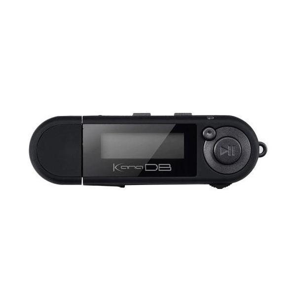グリーンハウス デジタルオーディオ GH-KANADB8-BK ブラック 容量:8GBの画像