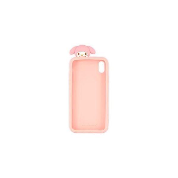 SAN-972MM(マイメロディ) iPhoneXR用 シリコンケース サンリオキャラクターズ グルマンディーズ SAN972MM