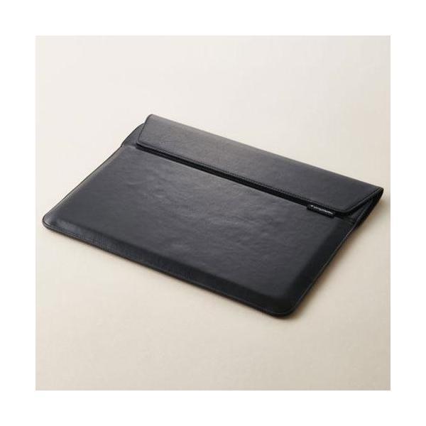 トリニティ iPad Pro 12.9インチ用 ケース TR-IPD18L-PS-NBK ブラックの画像