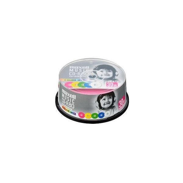 マクセル CDRA80MIX.30SP 音楽用 CD-R 80分 1回録音 30枚