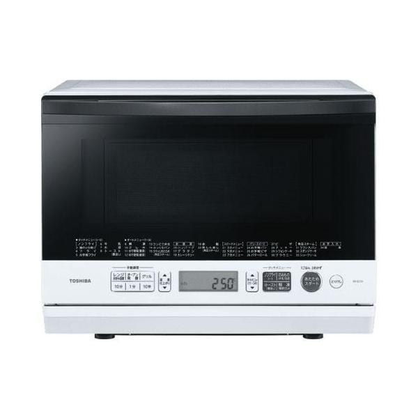 東芝 ER-SD70-W(グランホワイト) 石窯ドーム 角皿式スチームオーブンレンジ 26L