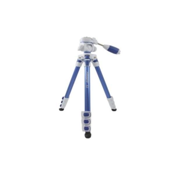 キング FOTOPRO 中型アルミカラー三脚 S3 ブルーの画像
