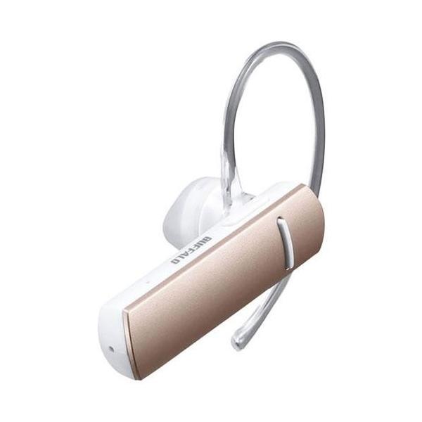 バッファロー Bluetooth4.0対応 片耳ヘッドセット BSHSBE200PK ピンクの画像