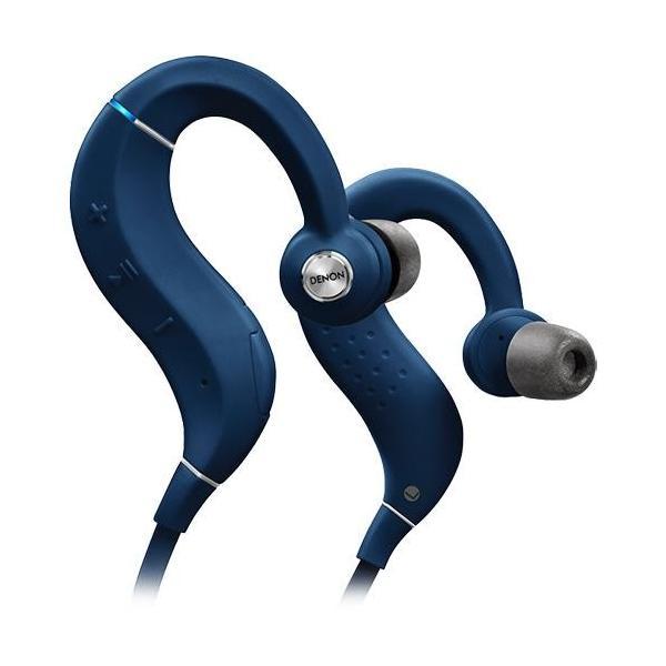 DENON AH-C160W-BU(ブルー) Bluetooth ワイヤレス スポーツ インイヤーヘッドホン