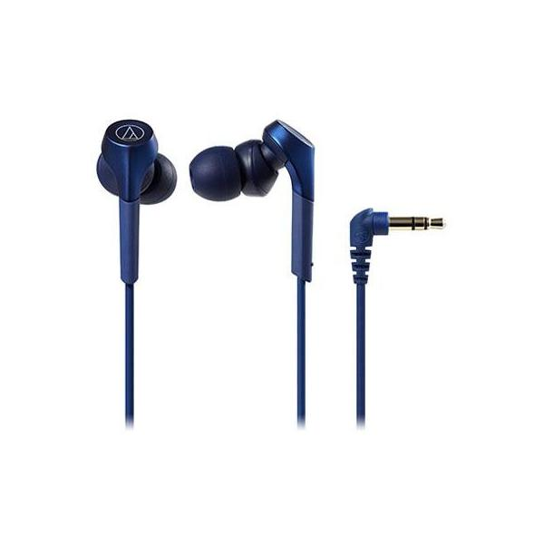 オーディオテクニカATH-CKS550XBL(ブルー)SOLIDBASSインナーイヤーヘッドホンハイレゾ対応