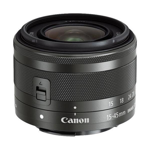 【長期保証付】CANON EF-M15-45mm F3.5-6.3 IS STM(グラファイト)