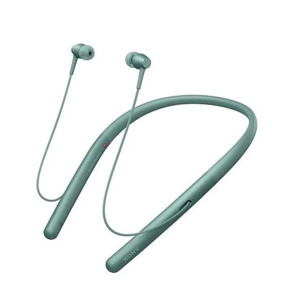 【長期保証付】ソニー WI-H700-G(ホライズングリーン) ワイヤレスステレオヘッドセット ハイレゾ対応