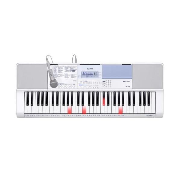 長期保証付 CASIOLK-515光ナビゲーションキーボードCasiotone61鍵盤