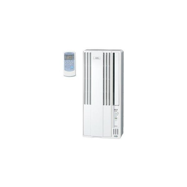 【設置】コロナ CW-FA1619-WS(シェルホワイト) ウインドエアコン 冷房専用 主に4.5畳〜7畳
