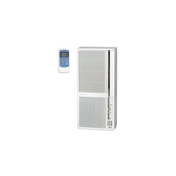 【設置】コロナ CWH-A1819-WS(シェルホワイト) ウインドエアコン 冷暖房兼用 主に5畳〜8畳