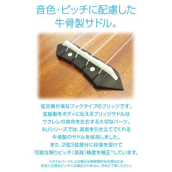 ウクレレ 初心者セット アリア AU-2 ソプラノ スペシャルセット SPS|ebisound|08