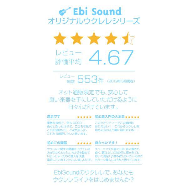 ウクレレ 初心者セット アリア AU-2 ソプラノ スペシャルセット SPS|ebisound|10