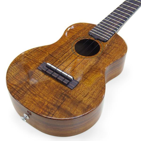 キワヤ ウクレレ コンサート KPC-1K HG #093019 ハワイアン・カーリーコアトップ オール単板 国産モデル|ebisound|03