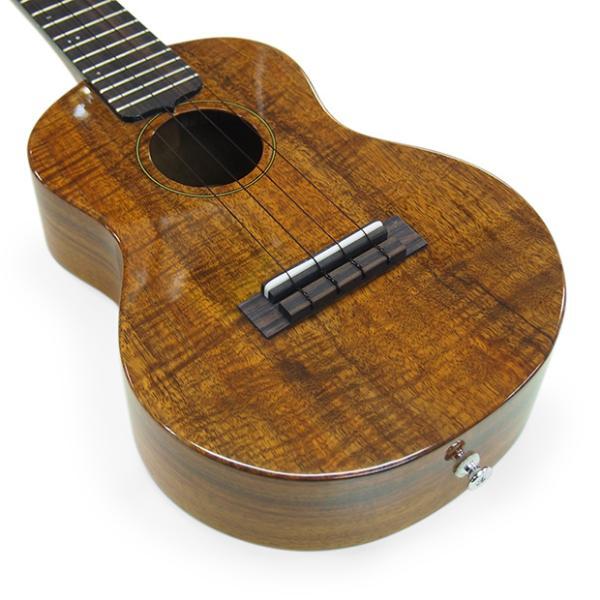 キワヤ ウクレレ コンサート KPC-1K HG #093019 ハワイアン・カーリーコアトップ オール単板 国産モデル|ebisound|04