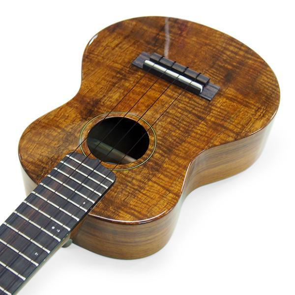 キワヤ ウクレレ コンサート KPC-1K HG #093019 ハワイアン・カーリーコアトップ オール単板 国産モデル|ebisound|05