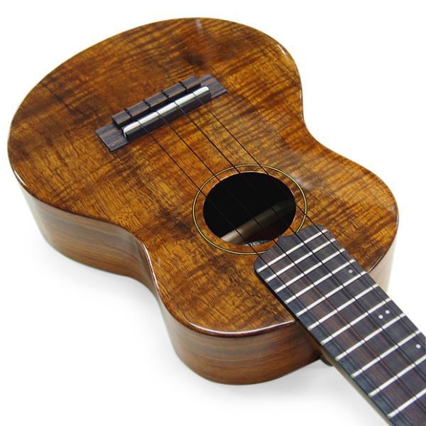 キワヤ ウクレレ コンサート KPC-1K HG #093019 ハワイアン・カーリーコアトップ オール単板 国産モデル|ebisound|06
