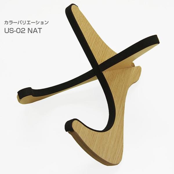 Mahalo マハロ ウクレレスタンド US-02 木製 X型|ebisound|03