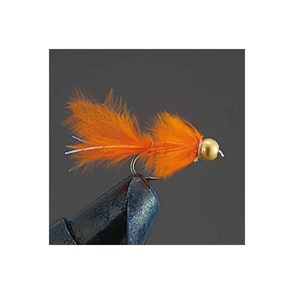 バレーヒル COMPLETE FLY [ニンフ] P17 GHマラブーニンフC (オレンジ) #12