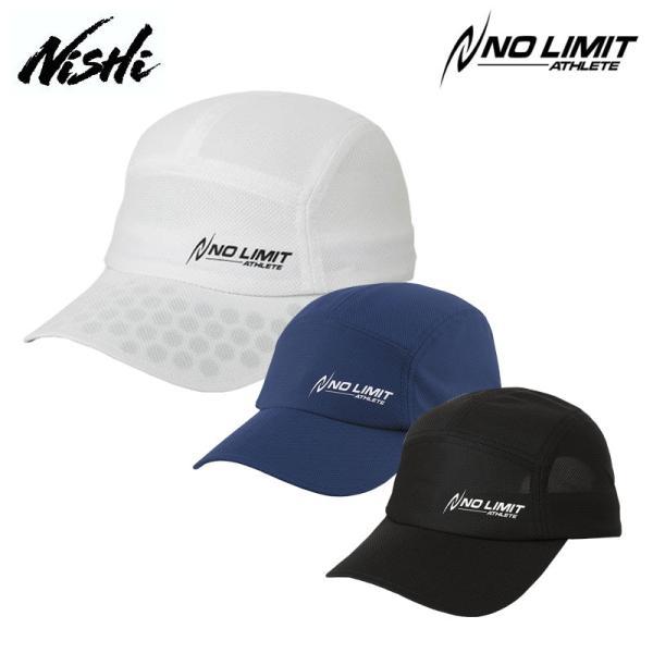 ニシスポーツフレキシブルランニングキャップユニセックスN22-8022021春夏スポーツキャップ帽子陸上マラソンジョギングNIS