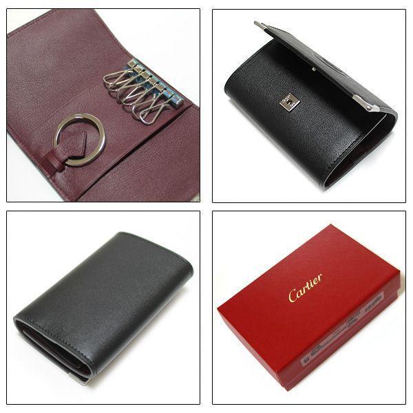 カルティエ Cartier 6連キーケース  カボション ブラック L3000579 ebsya 03